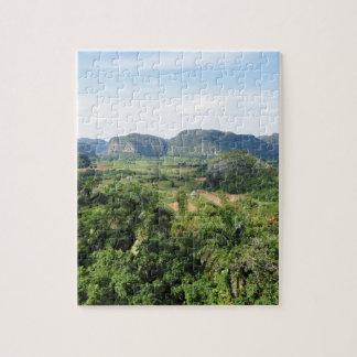 Cuba landscape jigsaw puzzle