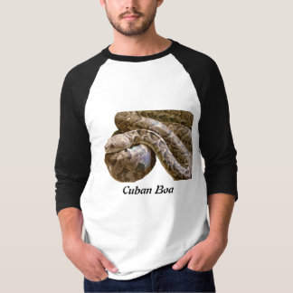 Cuban Boa Basic 3/4 Sleeve Raglan T-Shirt