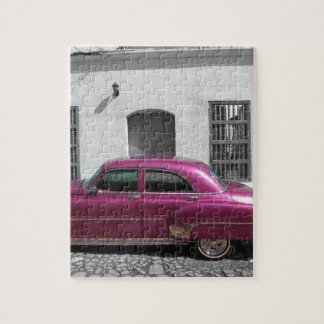 Cuban Cars 4 Jigsaw Puzzle