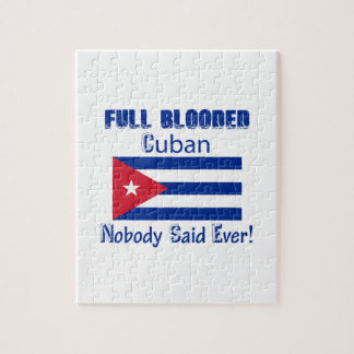 Cuban citizen design jigsaw puzzle