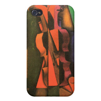 Cubist art Violin and Guitar painting by Juan Gris Case For iPhone 4