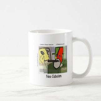 Cubist Castro NeoCubaism Funny Coffee Mug