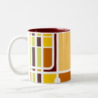 Cubist Elephant Mug