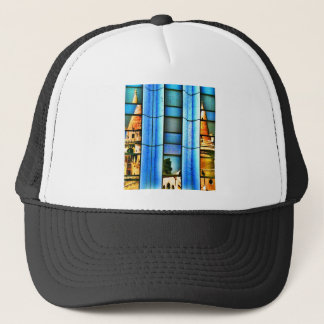 Cubist  Reflections Trucker Hat