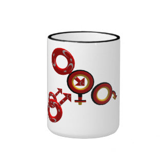 Cuckold coffee tea cup ringer mug