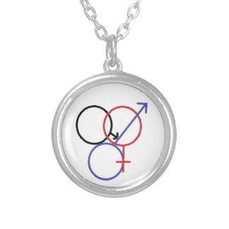 Cuckold Hotwife Round Pendant Necklace