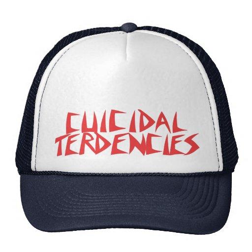 Cuicidal Terdencies Cap Mesh Hats