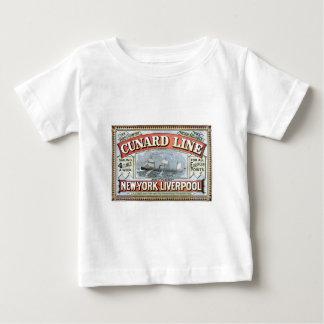 Cunard Line New York Liverpool 1875 Shirt