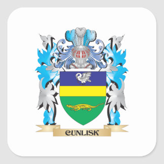 Cunlisk Coat of Arms - Family Crest Sticker