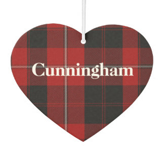 Cunningham Tartan Plaid Air Freshener