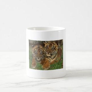 Cup animal basic white mug