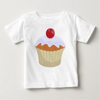 Cup Cake Cherry Baby Shirt
