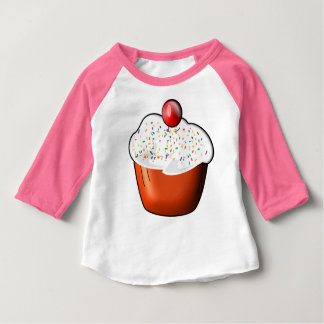 Cup Cake Cherry Shirt baby American Apparel