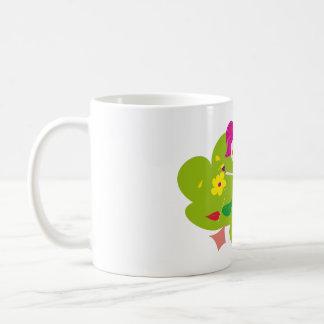 "Cup ""Enjoys the free time "" Basic White Mug"