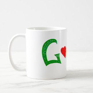 Cup Google Doodle Portuga Basic White Mug