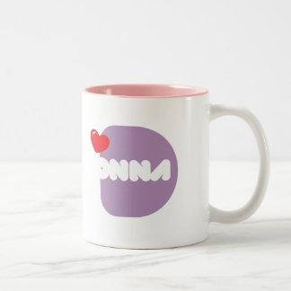 Cup of coffee Loves DONNA Coffee Mug