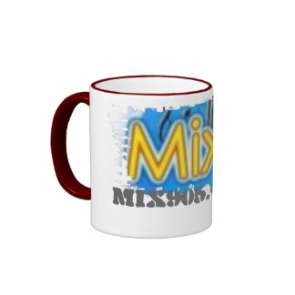 Cup salts ringing of border ringer mug