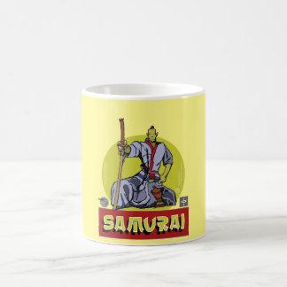 Cup Samurai Sketcher Basic White Mug