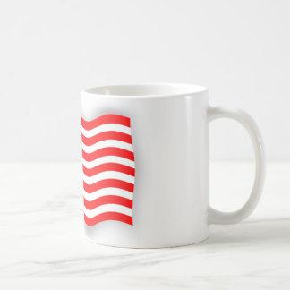 Cup with flag of North America Basic White Mug