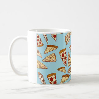 CUP WITH PIZZA DRAWINGS