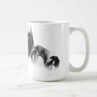 Cup with schnauzers basic white mug