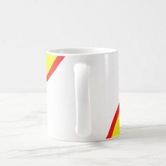 Cup with Spanish flag Basic White Mug