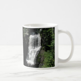 cup with waterfall
