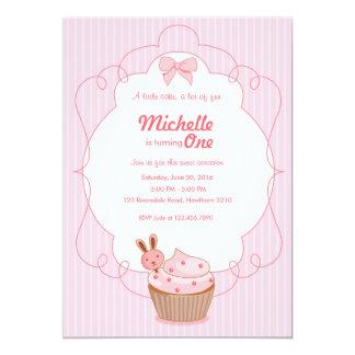 Cupcake Birthday Invitation / Cupcake Invitation
