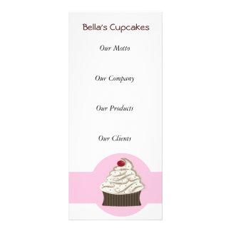 Cupcake Business rack Cards