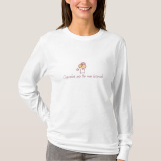 Cupcakes are the new broccoli. T-Shirt