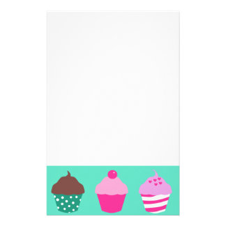 Cupcakes design stationery