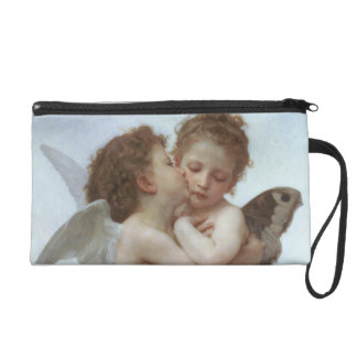 Cupid and Psyche as Children Wristlet