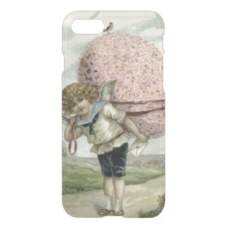 Cupid Angel Easter Egg Floral Flowers Bird iPhone 8/7 Case