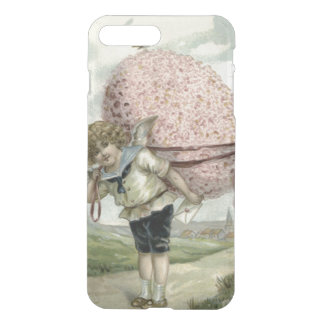 Cupid Angel Easter Egg Floral Flowers Bird iPhone 8 Plus/7 Plus Case