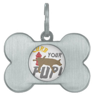 Curb Your Pup Pet Tags