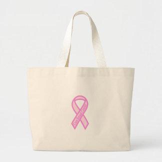 Cure Breast Cancer Jumbo Tote Bag