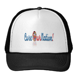 Cure Our Nation Trucker Cap Hats