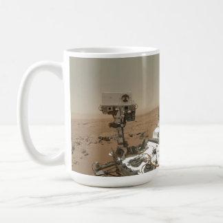 Curiosity on Mars Basic White Mug