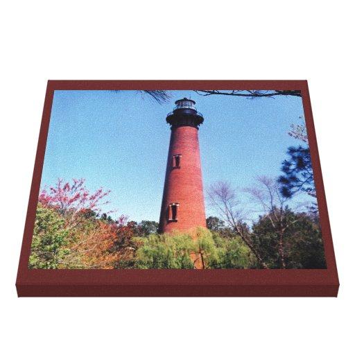 Currituck Lighthouse Canvas Prints