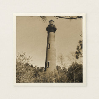 Currituck Lighthouse Disposable Napkins
