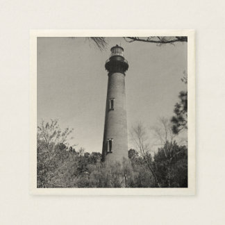 Currituck Lighthouse Disposable Serviettes