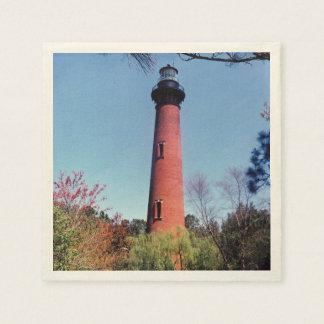 Currituck Lighthouse Disposable Serviette