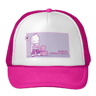 Curse Industries Mesh Trucker Hat