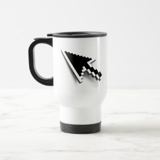 Cursor 3D (inverted) Travel Mug