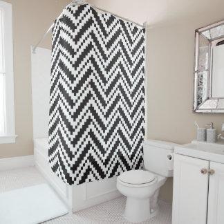 Curtain of Bath Creative Black Chevron Shower Curtain