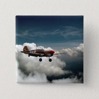 Curtiss P-40F Kittyhawk 15 Cm Square Badge