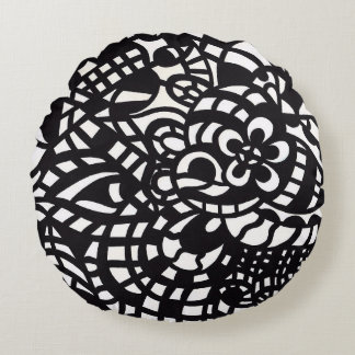 Curves and Spheres 2 Round Cushion