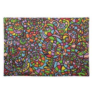 Curves and Spheres Placemat