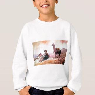 Cusco Peru Llama Picture Sweatshirt