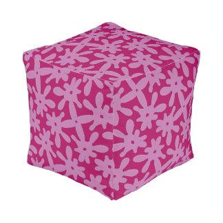 Cushion cubes pink Jimette Design and fuchsia